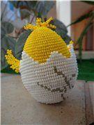 Цыпленкин домик   biser.info - всё о бисере и бисерном творчестве