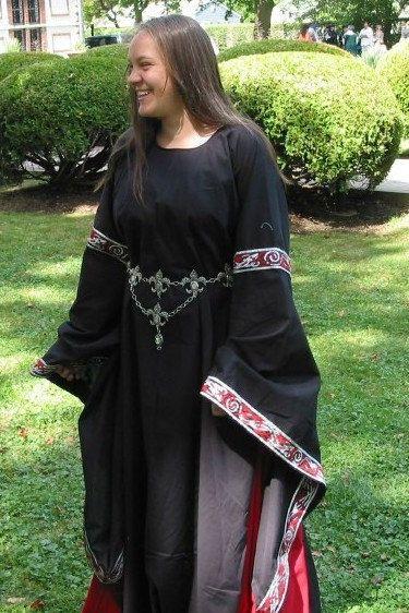 Custom Cotton 12thC Style Angel Sleeve by CamelotCreationscom