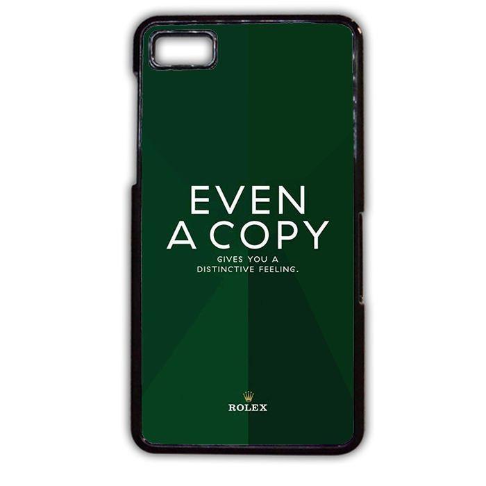 Rolex Quotes TATUM-9302 Blackberry Phonecase Cover For Blackberry Q10, Blackberry Z10