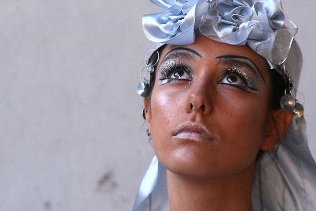 La Novia Mapuche inspirado en la trapelacucha, para desfile Arte al Limite, hecho por mi y mi mamá