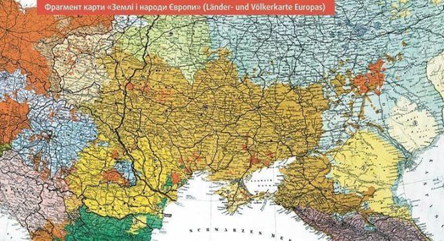 Karta 1917 Roku Ochevidnim Ye Perevazhannya Ukrayinskogo Naselennya