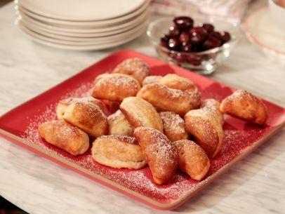 "Sweet Potato Puffs (Thanksgiving Brunch) - Giada De Laurentiis, ""Giada's Holiday Handbook"" on the Food Network."