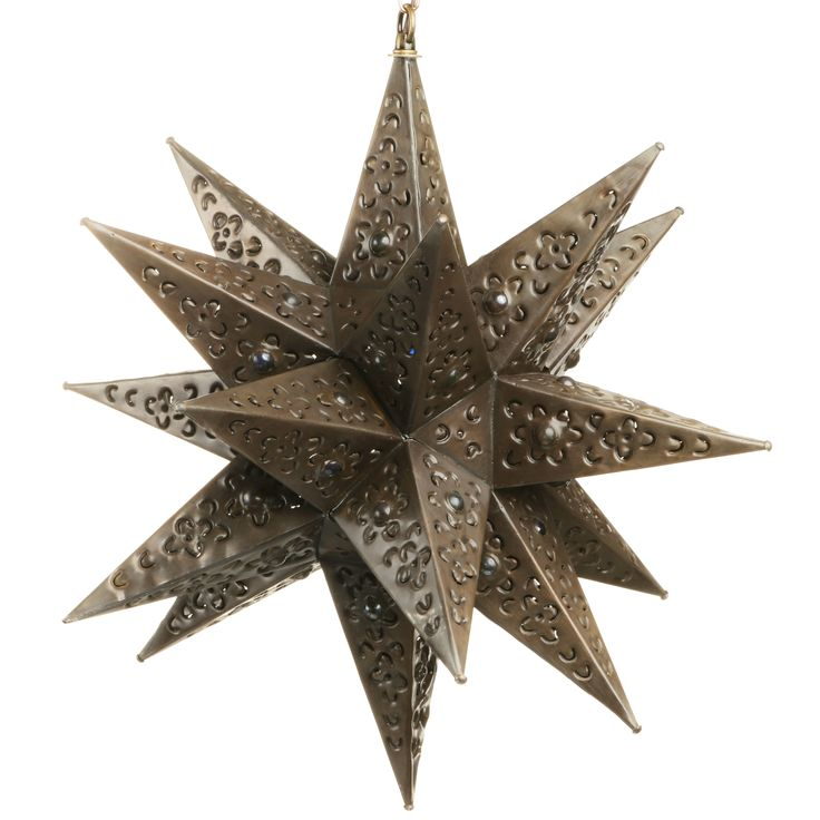 punched tin lighting fixtures. hanging mexican punched tin star light with marbles up your night our awesome lighting fixtures