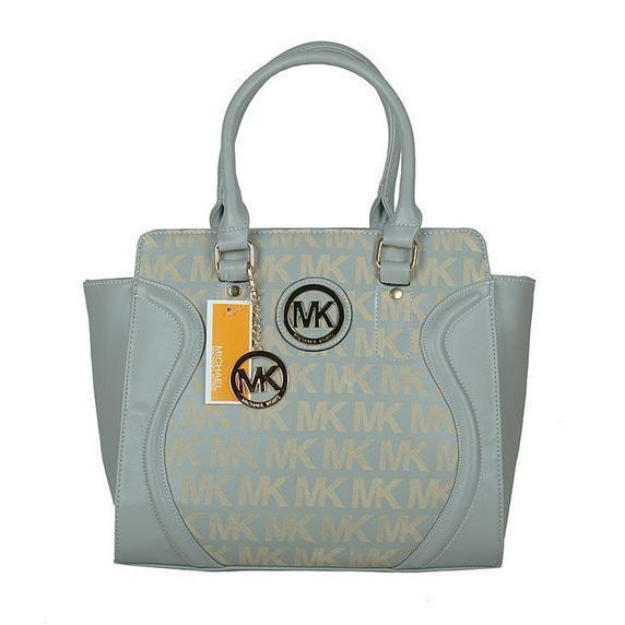 Michael Kors Outlet Logo Large Grey Satchels -Michael Kors factory outlet online sale now up to 80% off!