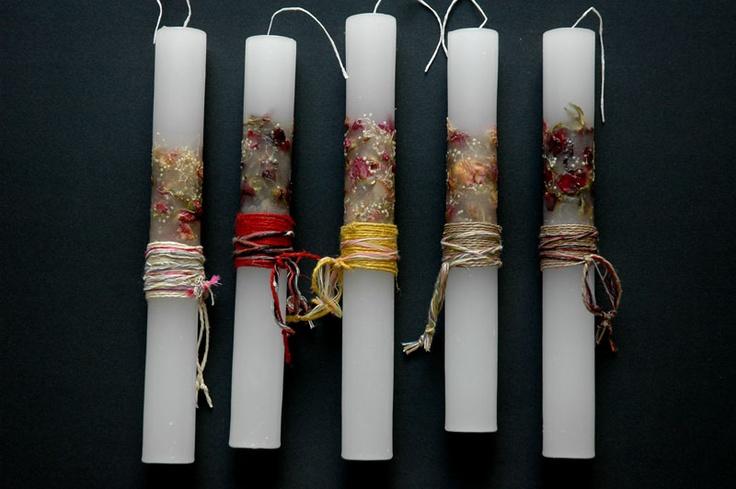 Pascha candles