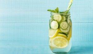 Különleges, uborkás limonádérecept