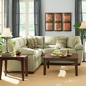 JCP Walnut Grove Accent Tables By Studio Loving This Whole Room Great Use Of
