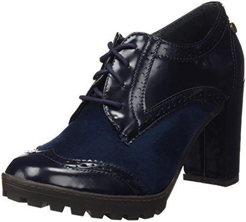 Oferta: 46.95€. Comprar Ofertas de XTI Botin Sra C. Combinado, Zapatos de Cordones Oxford Para Mujer, Azul (Navy), 39 EU barato. ¡Mira las ofertas!