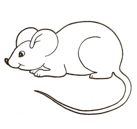 mice funny looking for food coloring pages for kids printable mice coloring pages for kids
