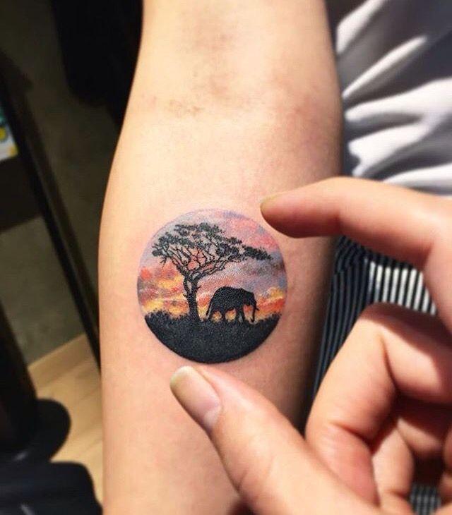 35 Elephant Tattoo Designs | Amazing Tattoo Ideas