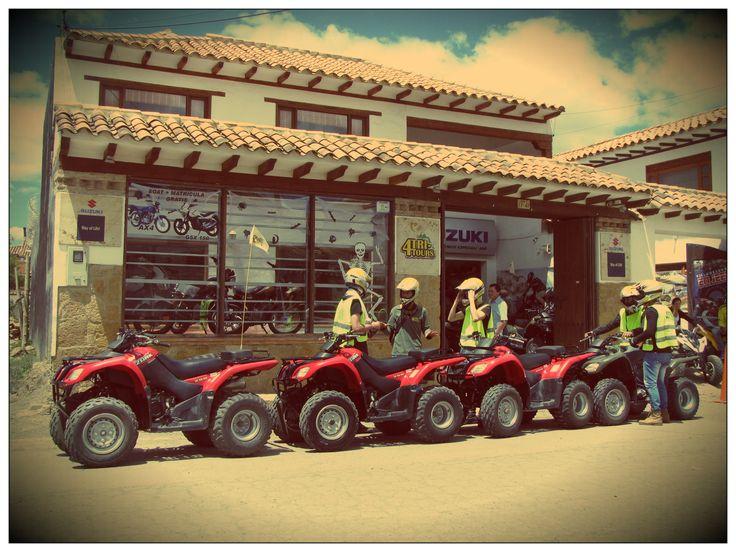 4tritours @4tritours Alquiler de cuatrimotos en Villa de Leyva Av Circunvalar Cll 8 No 11-41 Cel: 312 315 66 60 - (038) 732 12 96