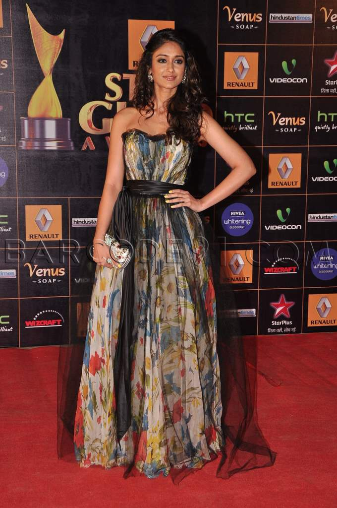 Ileana D'Cruz In Dolce & Gabbana sprinkled with colorful gown