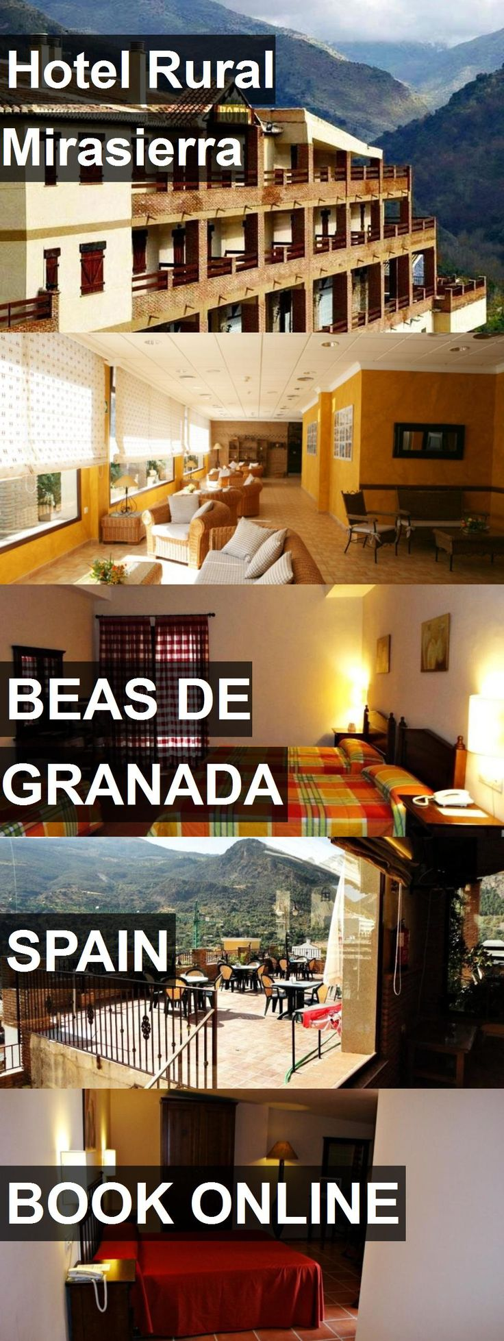Hotel Hotel Rural Mirasierra in Beas de Granada, Spain. For more information, photos, reviews and best prices please follow the link. #Spain #BeasdeGranada #hotel #travel #vacation