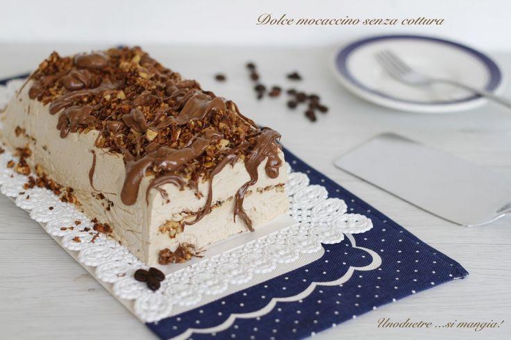 Il dolce mocaccino senza cottura è un dolce al cucchiaio fresco e goloso, al sapore caffè, ideale per il dopocena delle calde giornate di estive e non solo!
