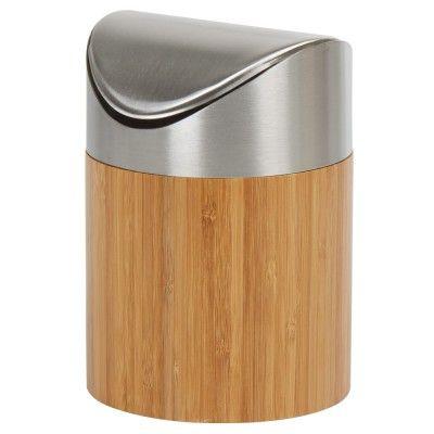 Les 25 meilleures id es de la cat gorie poubelles sur for Poubelle salle de bain bois