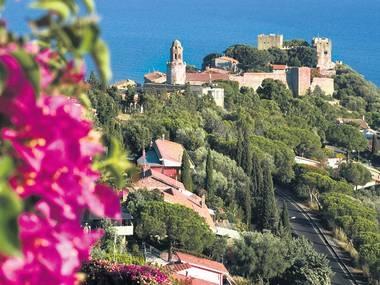 Old town and castle of Castiglione della Pescaia, Tuscany, Italy