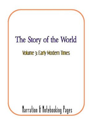 Story of the World Vol 3 Timeline and Notebooking School - blank timeline