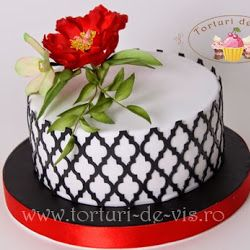Viorica's cakes: Torturi cu flori. TOO MANY beautiful cakes on this page!