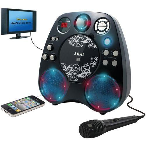 Akai Cd+g Karaoke Player With Light Effects
