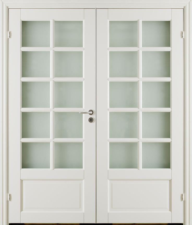 Oden 4 SP10 Double Door - Interior Door made by GK Door, Glommersträsk, Sweden.  www.gkdoor.se