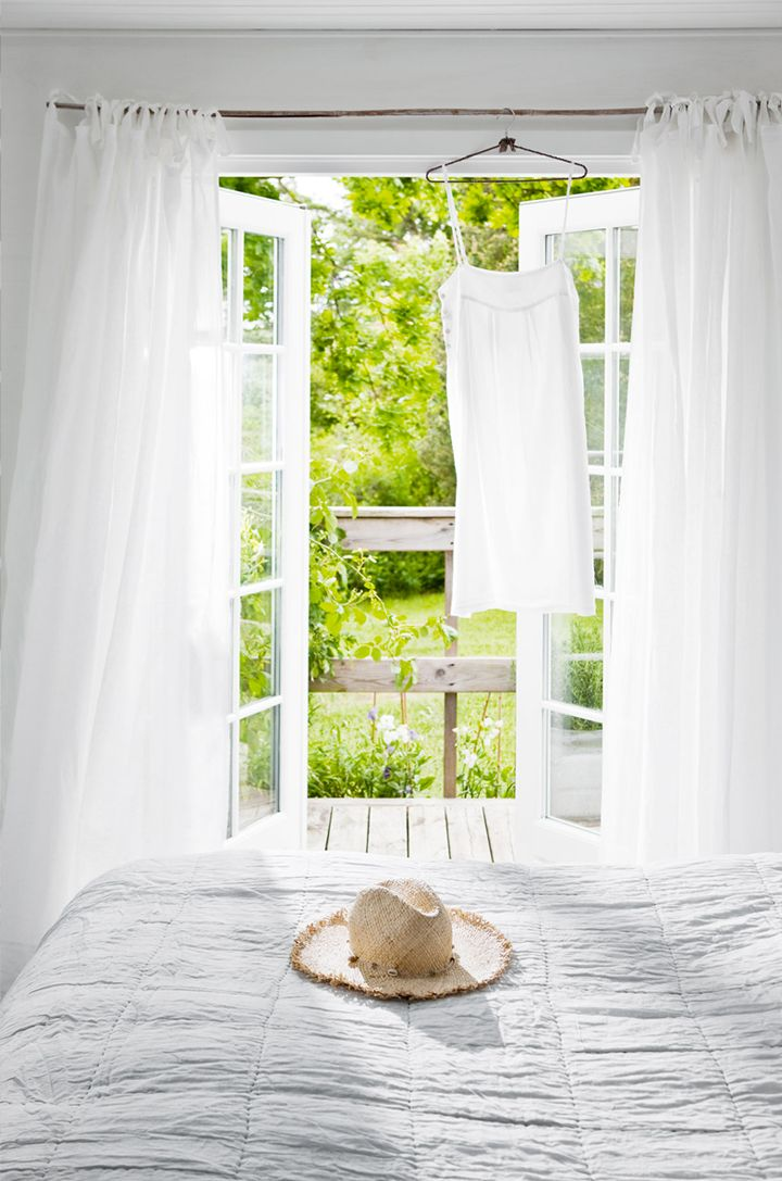 summer house bedroom - simple, white, small and cozy | 79 Ideas