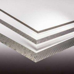 Acrylglas (PMMA-XT) 2,2 mm Stärke https://www.acryl-onlineshop.de/Plexiglas-Zuschnitt/Acrylglas-XT-farblos/, 20,69 Euro qm