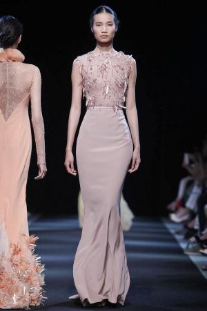 Georges Hobeika Fall Winter Haute Couture 2013 Paris