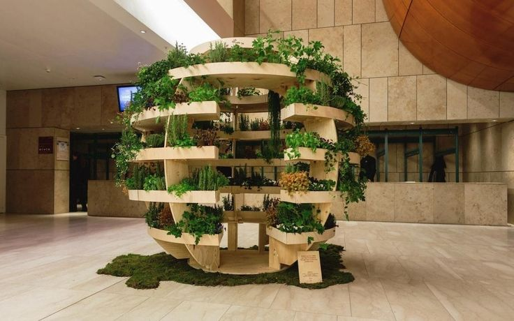 This is the Growroom, a spherical garden made from plywood that you can now build at home, after the instructions were made available to download for free this month.