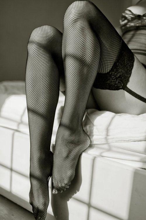 Black and White Photography - Boudoir -Legs