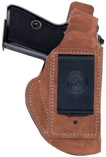 Galco Waistband Inside The Pant Holster for Glock 30, 29 (Natural, Right-hand) by Galco. $24.76. The Galco Waistband IWB offers functionality and economy.     Featuring a reinforced thumb break retention strap, a sturdy injection-molded nylon clip locks the holster onto the belt. The Waistband holster carries the handgun in a vertical orientation, with no cant or angle, so it can be used strong side, crossdraw, or in front of the hip (appendix carry). Constructed of prem...