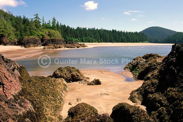 Cape Scott Provincial Park, Northern Vancouver Island, BC, British Columbia, Canada - Rugged Beach at San Josef Bay