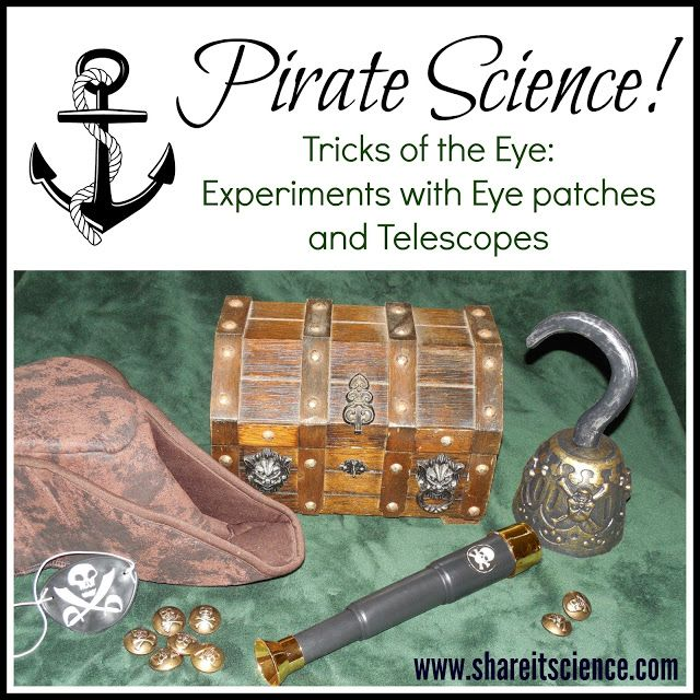 Share it! Science News : Pirate Science: Tricks of the Eye