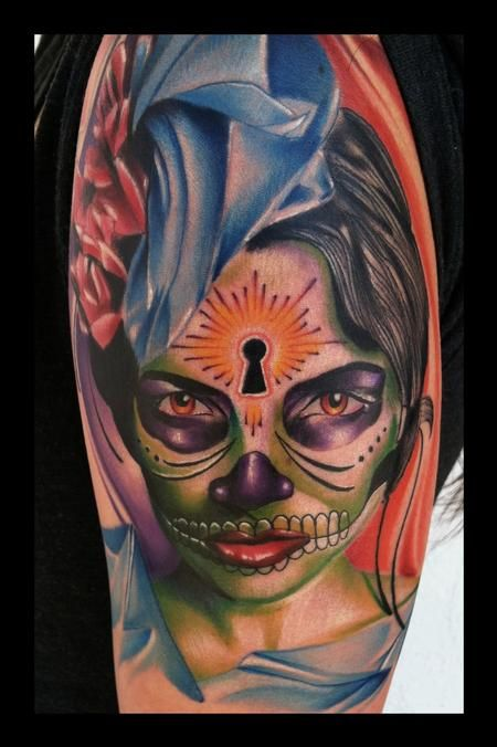 Use the form below to delete this Day Of The Dead Skull Tattoos image from our index. Description from tattoodonkey.com. I searched for this on bing.com/images