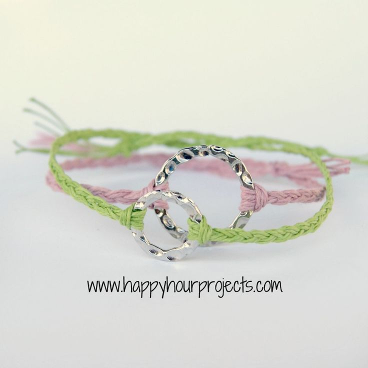 Happy Hour Projects: The Ten Minute Bracelet