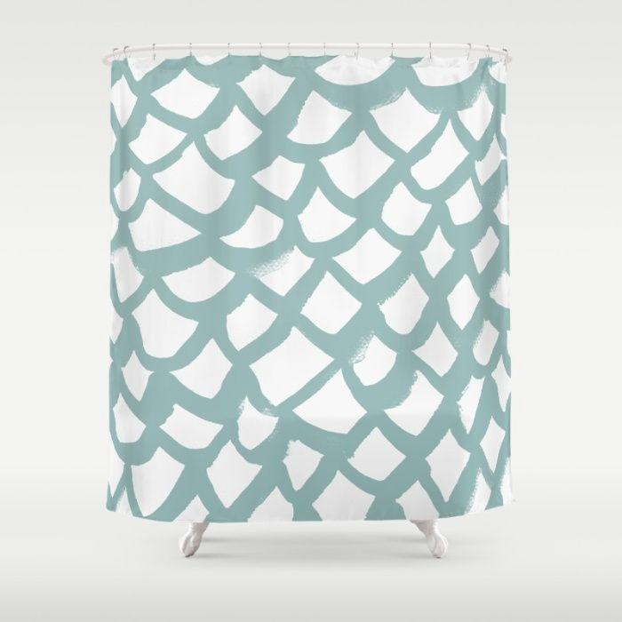 Pattern AQ86 Shower Curtain
