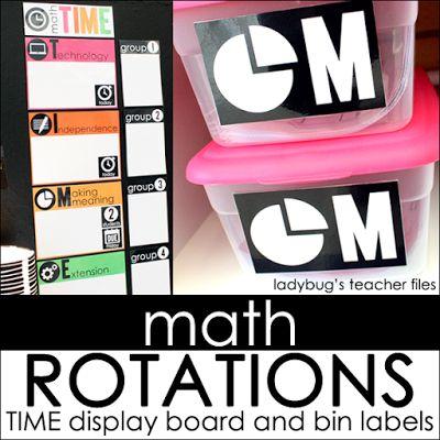 https://www.teacherspayteachers.com/Product/Math-Rotation-Board-2403582