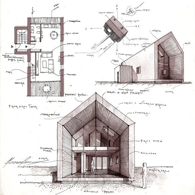 Mejores 366 im genes de d wall casas peque as en for Arquitectura casas pequenas