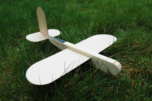 how to make a glider plane out of cardboard