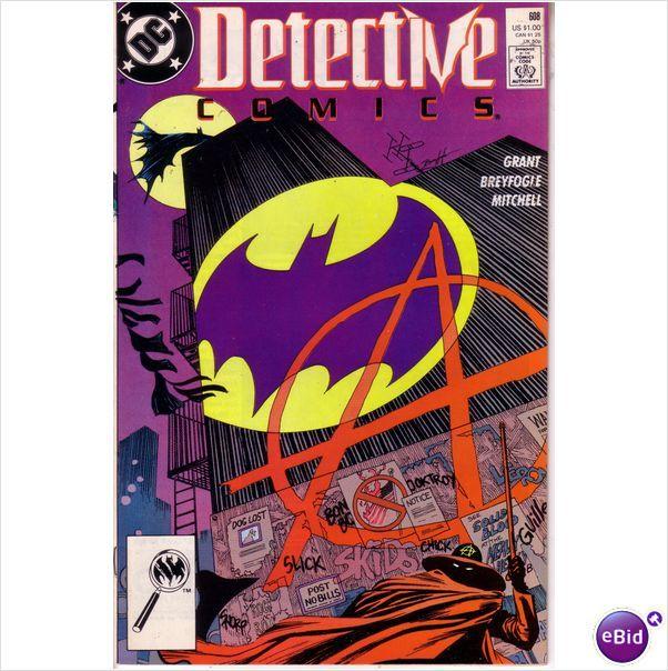DC Comics Batman Detective Comics #608 Nov 1989 on eBid United Kingdom