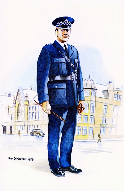 Chief Superintendent, City of Glasgow Police, c1945