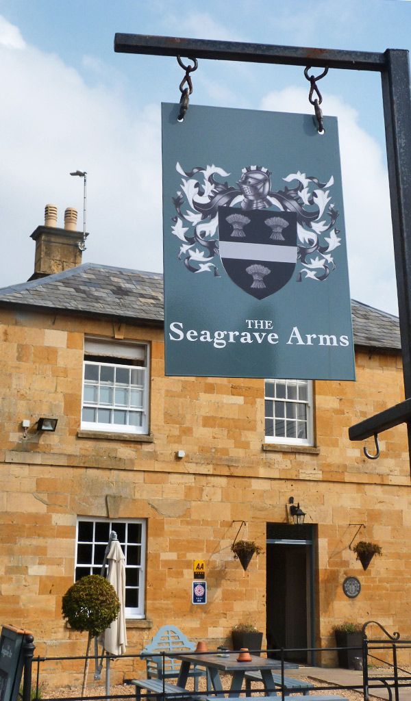The Seagrave Arms in Chipping Campden serves quality food from the best British ingredients, including fresh local game and fish paired with fine real ales. They give the classic British comfort food a contemporary twist. Make sure to try their award winning chips - The Seagrave Arms was crowned the winner of the best chips in the UK in the 2015 national Chip Week awards.