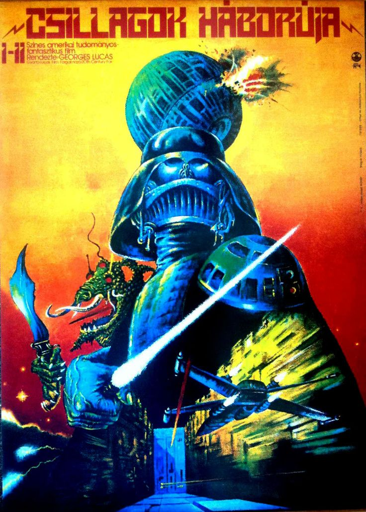 Foreign Star Wars poster