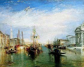 The Grand Canal Venice - Joseph Mallord William Turner, 1775-1851 - OldMastersOnline.com