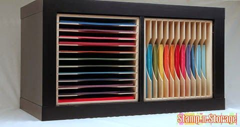 CRAFTY STORAGE: Expedit Kallax inserts by Stamp-n-Storage