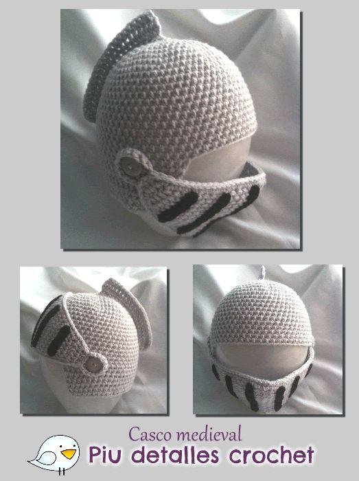 Gorro de casco medieval https://www.kichink.com/buy/100224/piu-detalles/gorro-casco-medieval-para-bebes#.UwAnYPmSySp