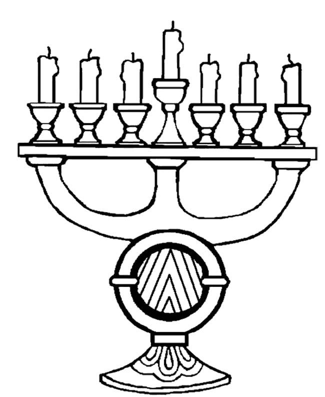 A Unique And Great Kwanzaa Coloring Page