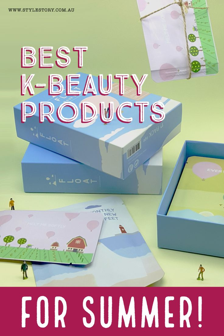 The best Korean Beauty products for summer, as well as some summer skin tips to get the K-Beauty glow when it's hot!