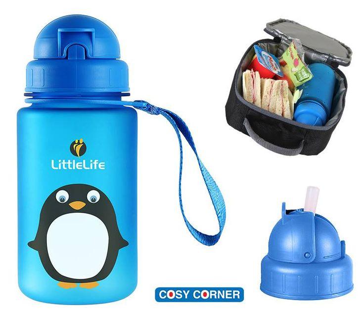 Littlelife Purdy Penguin Παγούρι - Χάρη στο υλικό κατασκευής (durable Tritan™) αντέχει στα.. πεσίματα! https://goo.gl/7OMaab