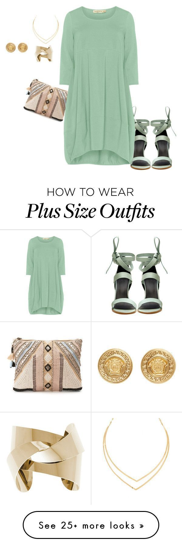 """plus size pretty, simple and chic"" von kristie-payne auf Polyvore mit TIBI"