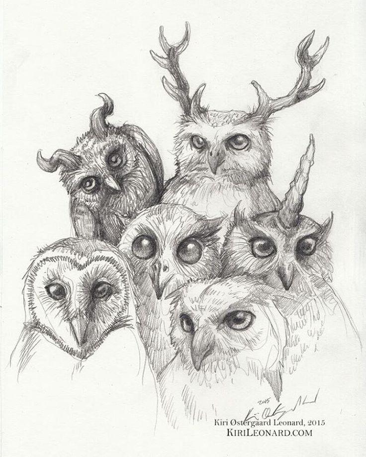 Gargle of owls by kiri østergaard leonard